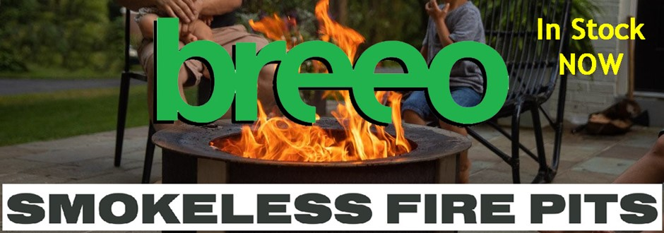 Breeo Smokeless Firepits